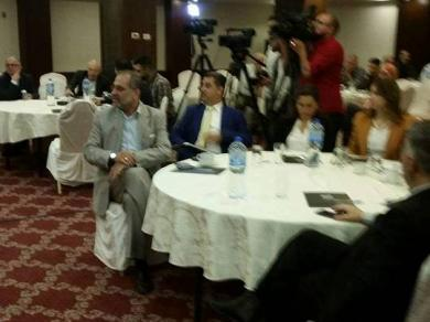 الفالوجي  يشارك في ورشة عمل حول ضرورة عقد المجلس الوطني