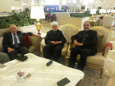 الفالوجي يلتقي يالشيخ محمد حسين