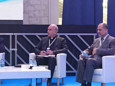 الفالوجي يشارك في مؤتمر دولي في اسبانيا حول الدبلوماسية الوقائية