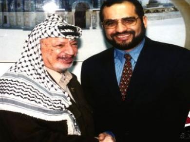 الى زهوة ياسر عرفات