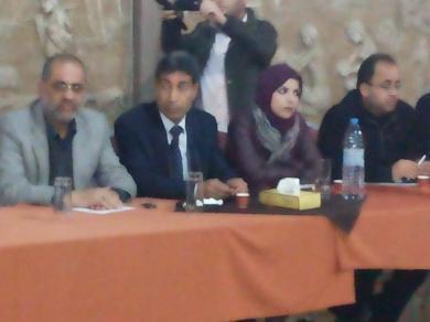 """الفالوجي يشارك في لقاء حول """" أزمة جامعة الاقصى """""""