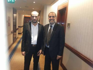 الفالوجي يلتقي بالأخ حسام بدران