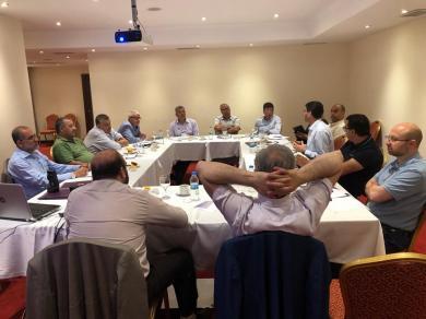 الفالوجي يشارك في لقاء اسطنبول