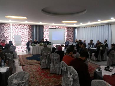 """الفالوجي يشارك في مؤتمر """" حول التعليم العالي في فلسطين """""""