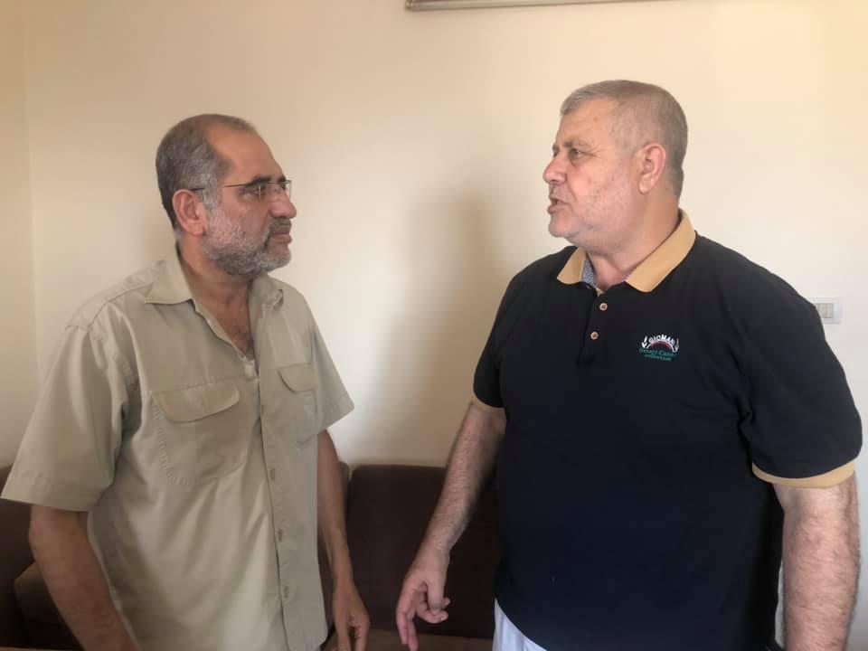 الفالوجي يلتقي البطش في غزة