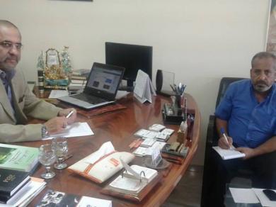 المهندس عماد الفالوجي مدير مركز ادم لحوار الحضارات في حديث لشبكة الاخبار الفلسطينية